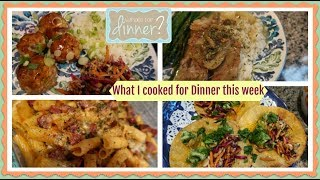 EPIC  What I cooked for Dinner this week | Lots of Dinner Ideas!