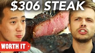 Repeat youtube video $11 Steak Vs. $306 Steak