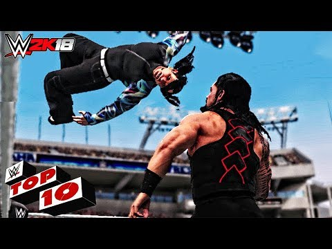 WWE 2K18 Jeff Hardy Top 10 Epic Moves!