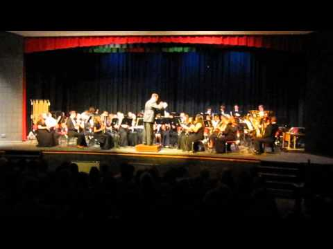 """Blue Goose Rag"" Riverdale High School Symphonic Band"
