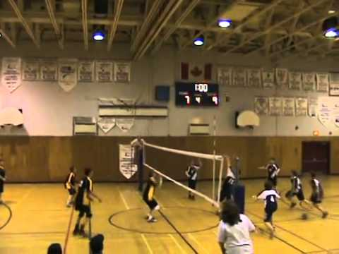 Southwest Arm Volleyball 2008 Grade 8 Provincials - Defence by Patty