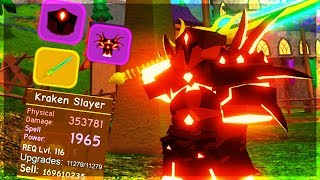 *INSANE* MAXED OUT WARRIOR LOADOUT! (ROBLOX DUNGEON QUEST)
