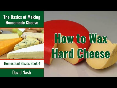 How To Wax Hard Cheese