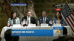 WEB EXTRA: Florida Cabinet Meets In Israel
