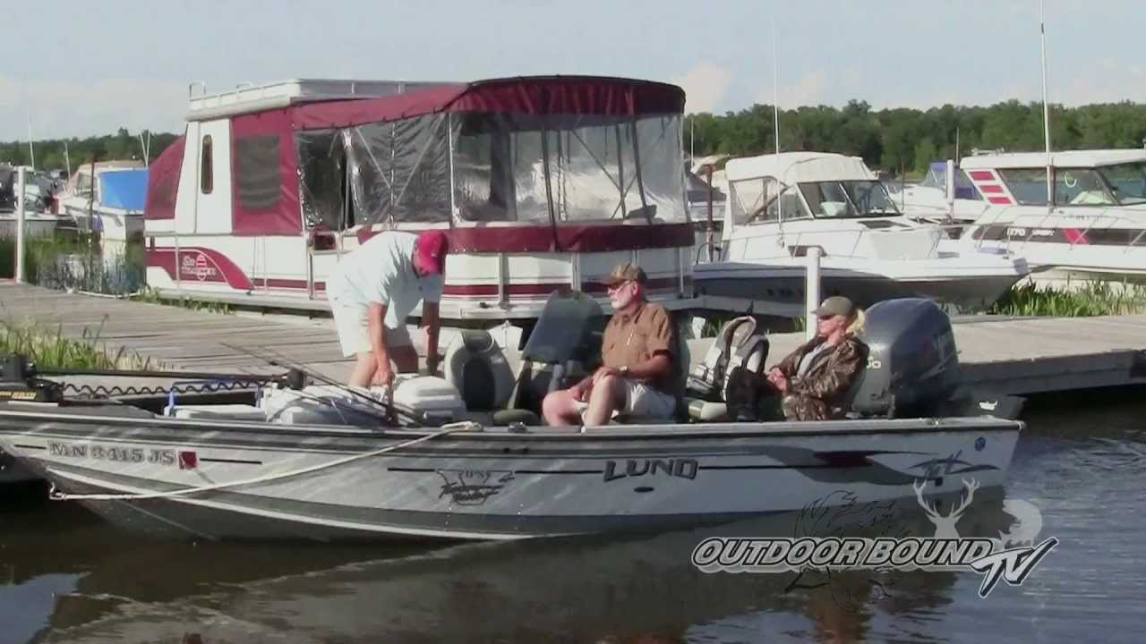 Outdoor bound tv episode 26 lake of the woods doovi for Lake of egypt fishing report