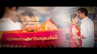 Studio Art Presents Nishanth & Poonguzhali Wedding Highlights