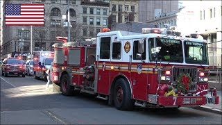 FDNY Fire Engine 7, EMS Supervisor & Ambulance responding