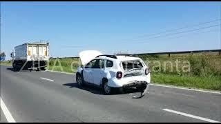 Accident rutier grav pe DN22 între Ovidiu și Lumina. Trei persoane au fost rănite.