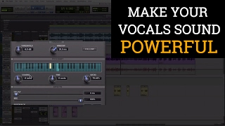 Make Your Vocals Sound Powerful - Using Pitch Shift and Stereo Spread