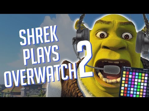 SHREK Plays OVERWATCH 2! Soundboard Pranks in Competitive!