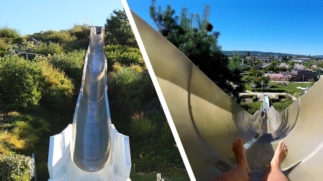 Kamikaze outdoor speed rutsche vitam parc aquatique for Piscine neuilly sur seine