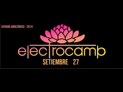 Dj Aveeo en Electrocamp 2014