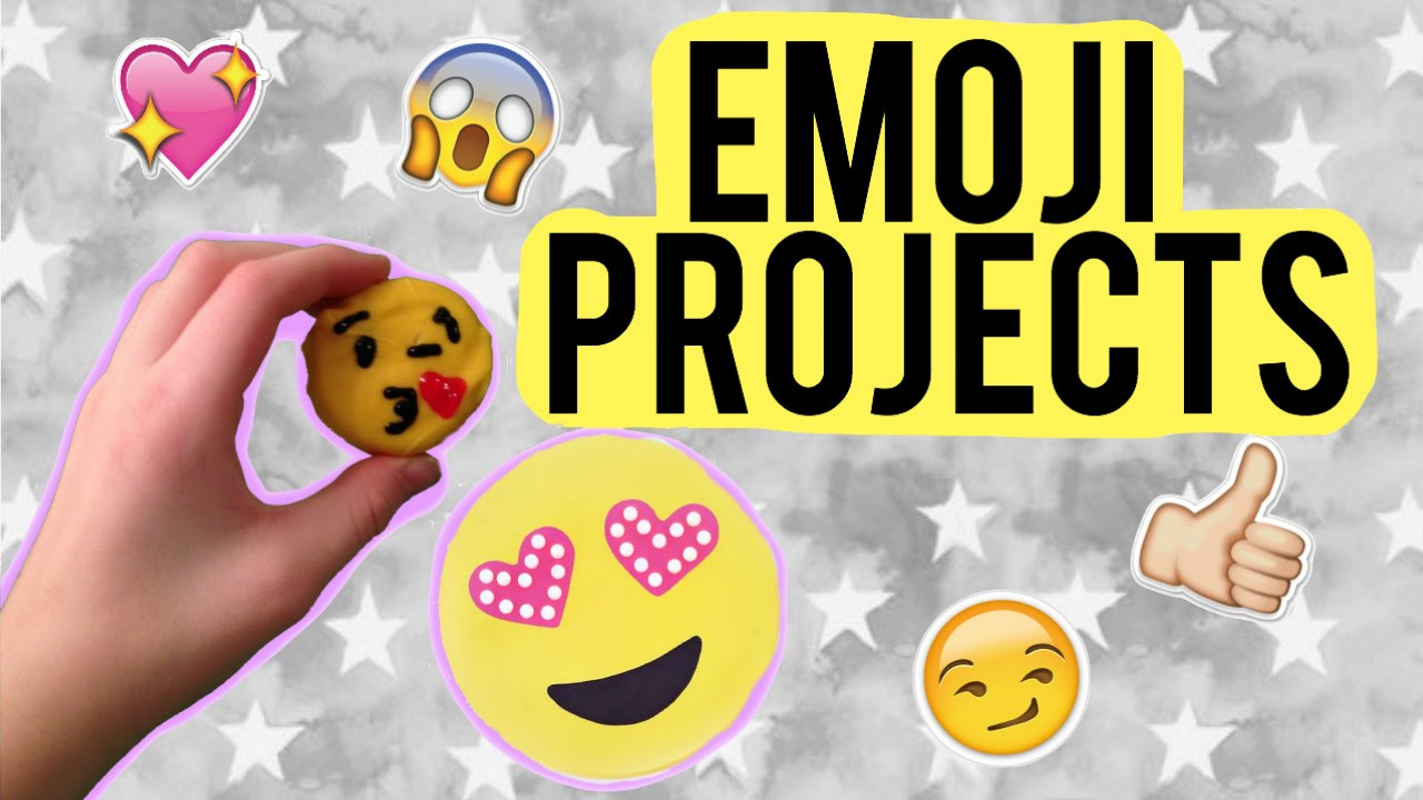 Diy Emoji Projects Fun Emoji Crafts Youtube