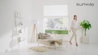 Vouwgordijnen | SmartCord | SUNWAY® Raamdecoratie