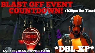 *DOUBLE XP WEEKEND ON FORTNITE & COUNTDOWN TO THE 'BLAST OFF' EVENT!! | BRAND *NEW* VERTEX SKIN