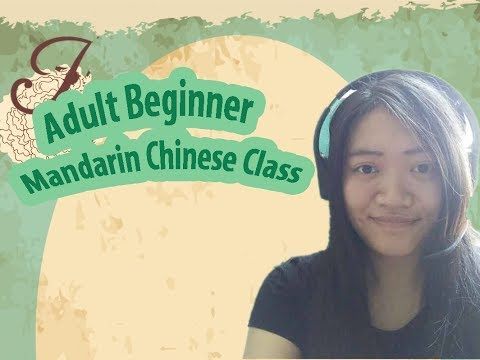 Adult Beginner Mandarin Chinese Class: Learn Introductions