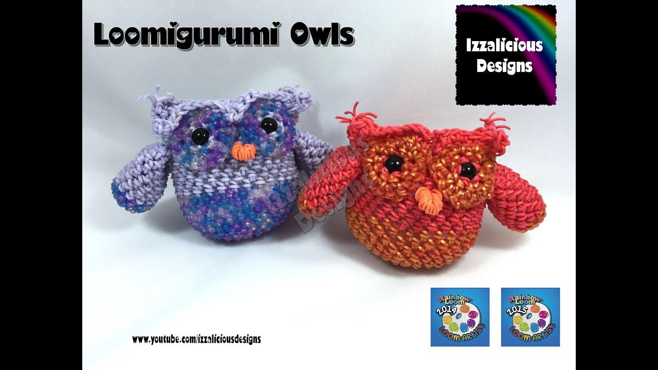 Baby owl amigurumi pattern: free tutorial | Amiguroom Toys | 720x1280