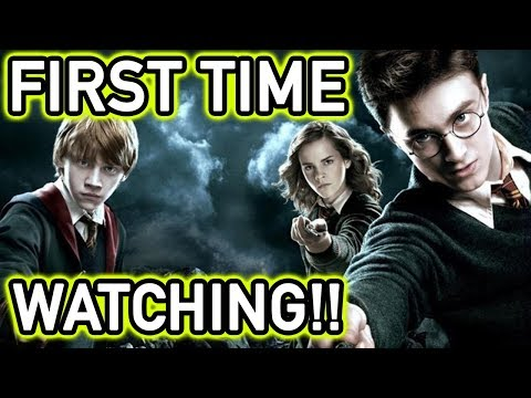 WATCHING HARRY POTTER FOR FIRST TIME!! (24 Hour Marathon)