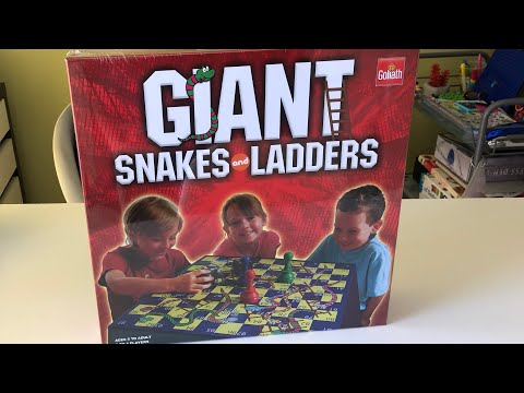 Giant Snakes & Ladders