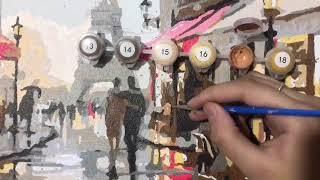 Pintura Em Tela Numerada