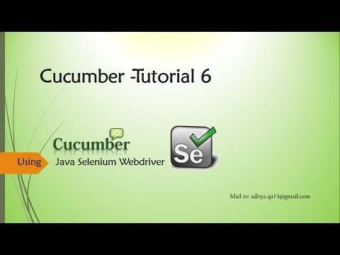 Cucumber DocString | Runner Class and Report Generation