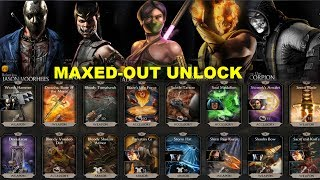 Video MKX 1.13.0 Maxed-out Equipment. Unlock and Diamond character list code download MP3, 3GP, MP4, WEBM, AVI, FLV Oktober 2018