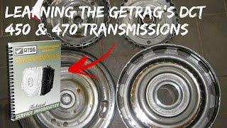 АЦГ: навчання передачі в коробку Getrag з DCT450 470