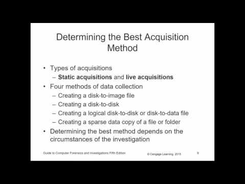 CF117 - Computer Forensics - Chapter 03 - Data Acquisition