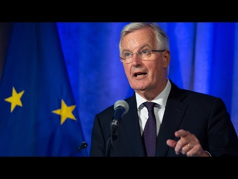 Watch Michel Barnier deliver the EU's first official verdict to the Chequers Brexit plan