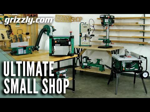 Ultimate Small Woodworking Shop | Benchtop Tools | Grizzly Industrial