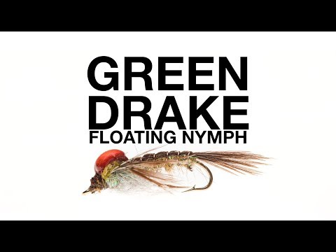 Learn How to Tie the Green Drake Floating Nymph