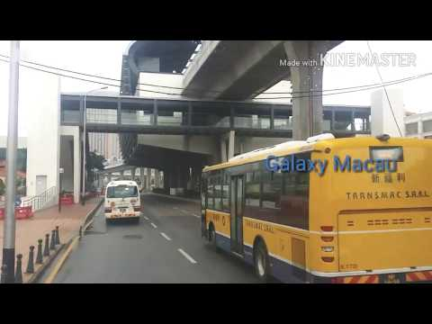 Macau China Full City Tour By Bus 2018 City Of Dreams