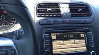Апгрейд VW Polo sedan -