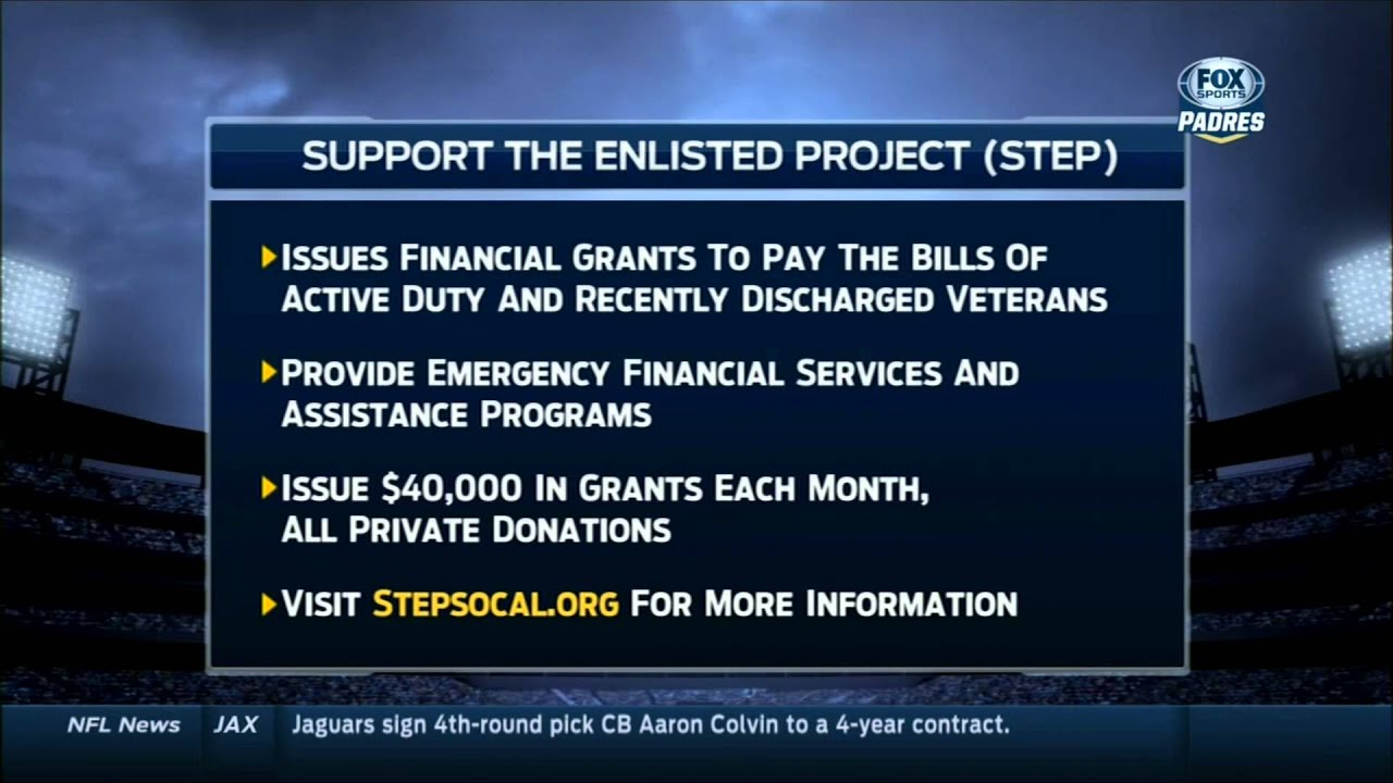 Support The Enlisted Project - STEP - YouTube