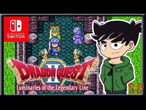 THE FIRST HOUR - Dragon Quest II Gameplay - Nintendo Switch - sackchief