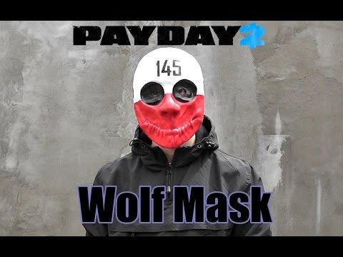 Как сделать маску Вульфа из PayDay2