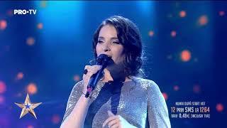 A cantat mai bine ca niciodata Ana Maria Pantaze - Romanii au Talent
