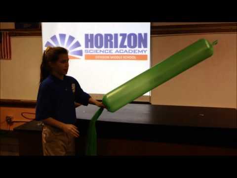Windbag or Bernoulli Principle -Horizon Science Academy Denison Middle School