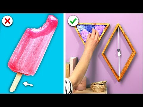 DIY Room Decor! 13 Cool and Simple Room Decoration Ideas