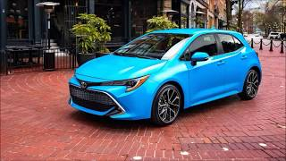 Toyota Corolla Hatchback 2019 Revaled a complete overview of exterior amd interior