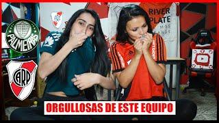 Palmeiras vs River Plate | Video Reacción de Hinchas de River | Semi Vuelta Copa Libertadores
