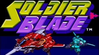 Classic TurboGrafx-16 Game Soldier Blade on PS3 in HD 720p
