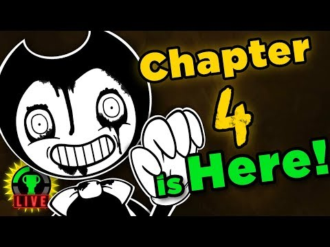 Hello BENDY, Goodbye ANGEL?! | Bendy And The Ink Machine Chapter 4