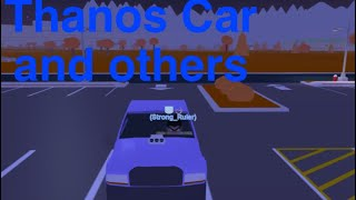 How to get secret cars in the neighborhood of robloxia (THANOS CAR)