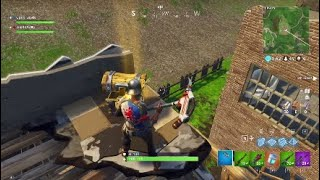 Kid Freaks Out When He Gets A Gold Scar in Fortnite