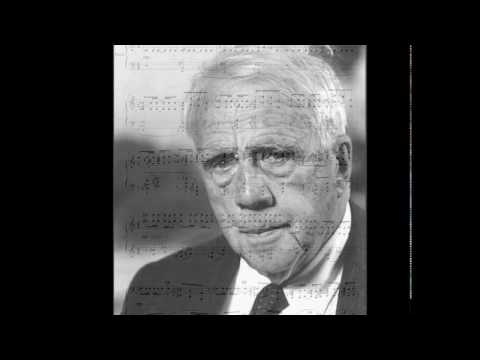 Frédéric Chaslin, the Robert Frost song album for Mezzo. Jennifer Holloway, F.Chaslin, JSO.