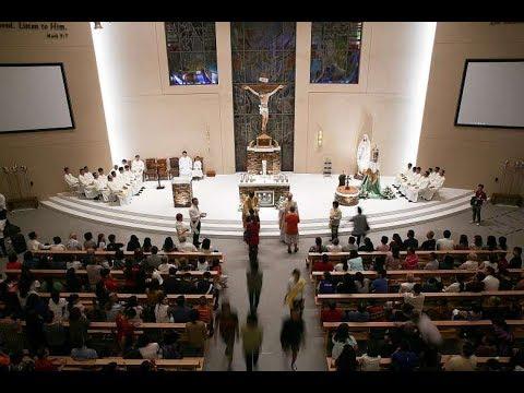 Church of the Transfiguration - Blessing by Apostolic Nuncio of Singapore