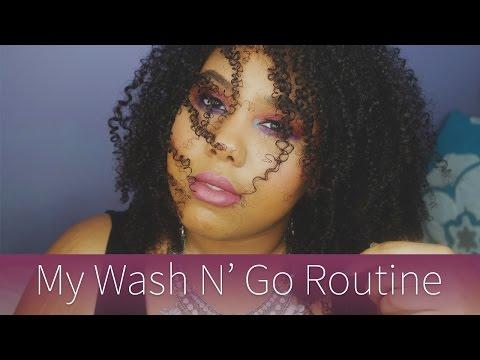 My Wash N' Go Routine | Samara WILDE