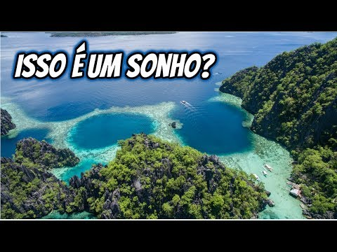 Filipinas - Coron Island, a ilha do filme Avatar - EP37T2