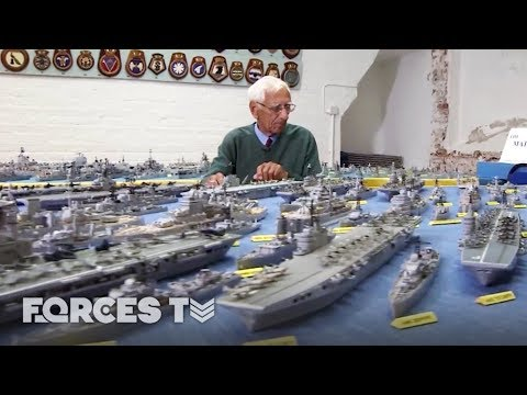Meet The Man Who's Spent 70 YEARS Making A Matchstick Royal Navy | Forces TV